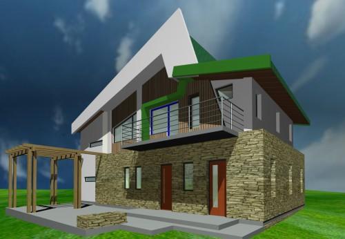Lucrari, proiecte Casa de vacanta - Borlesti  - Poza 6