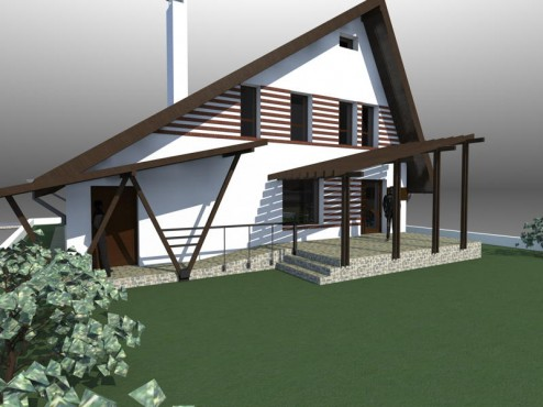 Lucrari, proiecte Casa de vacanta - Maramures  - Poza 1