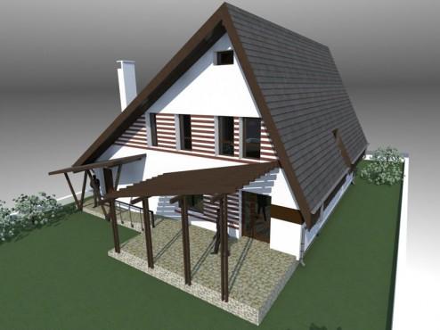 Lucrari, proiecte Casa de vacanta - Maramures  - Poza 3