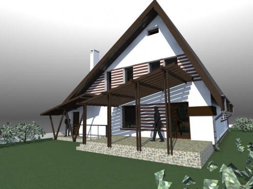Lucrari, proiecte Casa de vacanta - Maramures  - Poza 4