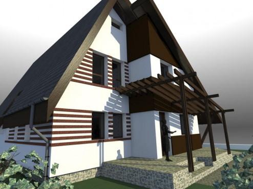 Lucrari, proiecte Casa de vacanta - Maramures  - Poza 5