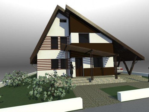 Lucrari, proiecte Casa de vacanta - Maramures  - Poza 6