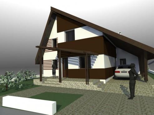Lucrari, proiecte Casa de vacanta - Maramures  - Poza 7