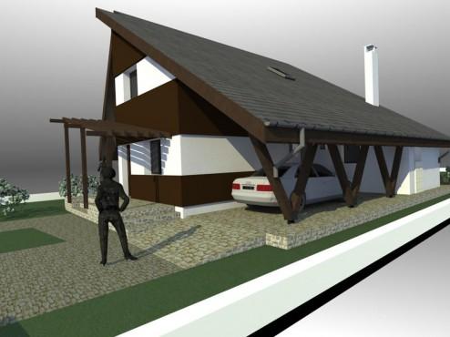 Lucrari, proiecte Casa de vacanta - Maramures  - Poza 14