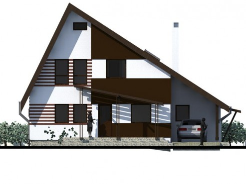 Lucrari, proiecte Casa de vacanta - Maramures  - Poza 17