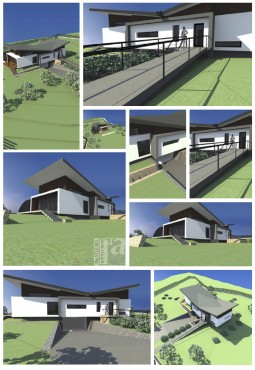 Lucrari, proiecte Casa din deal - Seini  - Poza 1