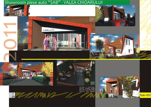 Lucrari, proiecte Showroom piese auto SAB - Valea Chioarului  - Poza 2