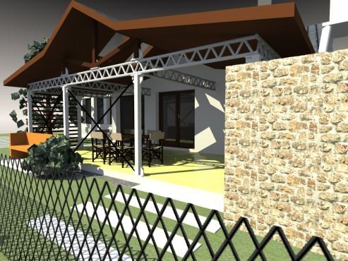 Lucrari, proiecte Terasa acoperita - Mihailesti  - Poza 1