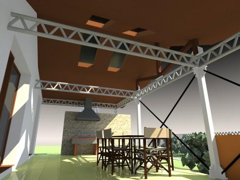 Lucrari, proiecte Terasa acoperita - Mihailesti  - Poza 3
