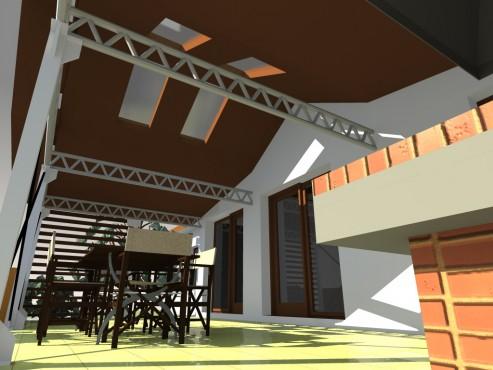 Lucrari, proiecte Terasa acoperita - Mihailesti  - Poza 5