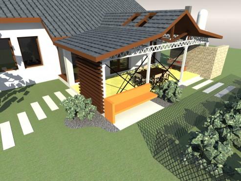 Lucrari, proiecte Terasa acoperita - Mihailesti  - Poza 6