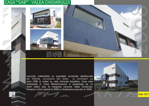 Lucrari de referinta Casa SAB - Valea Chioarului  - Poza 1