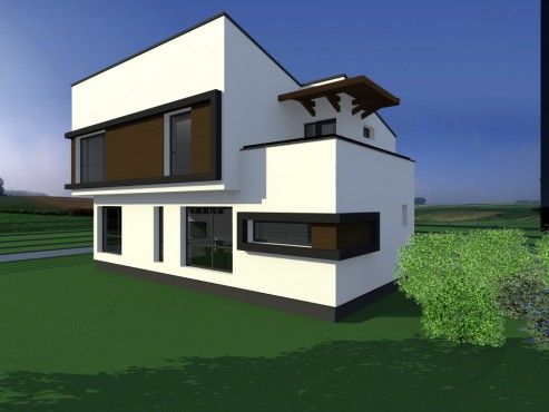 Lucrari, proiecte Casa de vacanta - Baia Mare  - Poza 3