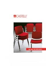 Scaune spectacole CASTELLI - DSC Axis 106 - 3000 - 4000 TECHNO OFFICE