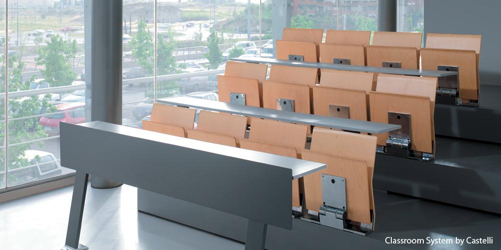 Scaune auditorium TECHNO OFFICE - Poza 1