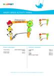 Echipament de joaca pentru copii - AB0053 LAPPSET - ANGRY BIRDS