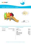 Echipament de joaca pentru copii - AB0102 LAPPSET - ANGRY BIRDS
