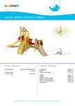 Echipament de joaca pentru copii - AB0104 LAPPSET - ANGRY BIRDS