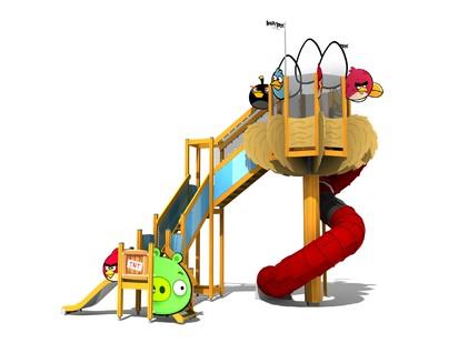 bigtower ANGRY BIRDS Echipamente de joaca pentru copii