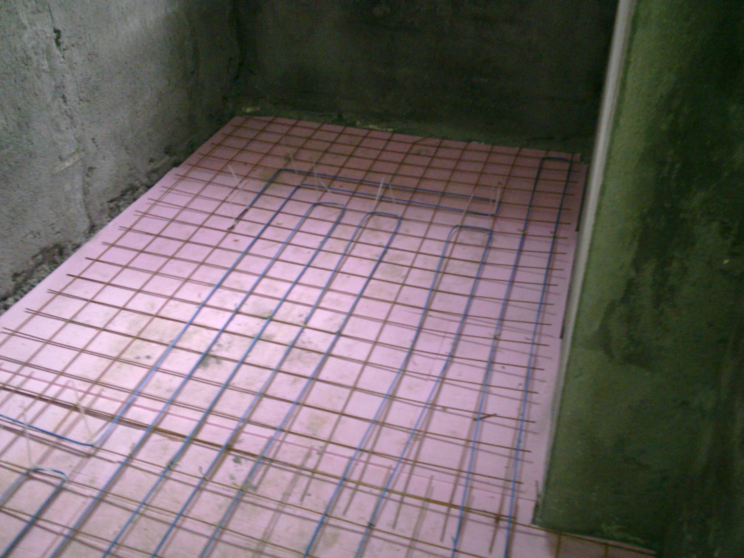 Incalzire in pardoseala - renovare apartament Calimanesti, jud Valcea RAYCHEM - Poza 18