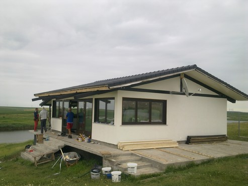Lucrari, proiecte Incalzire in pardoseala casa vacanta lemn - Gostilele, jud Calarasi RAYCHEM - Poza 69