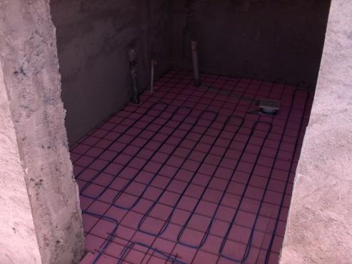 Lucrari, proiecte Incalzire in pardoseala resedinta fam Gheorghe - Craiova, Popoveni RAYCHEM - Poza 145