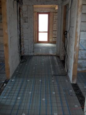 Lucrari, proiecte Incalzire in pardoseala resedinta particulara Stoinisteanu - Giurgiu - Casa lemn RAYCHEM - Poza 1