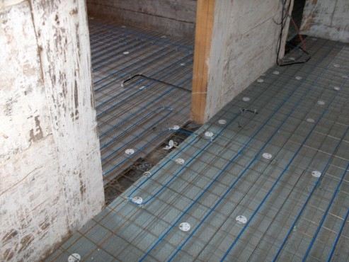 Lucrari, proiecte Incalzire in pardoseala resedinta particulara Stoinisteanu - Giurgiu - Casa lemn RAYCHEM - Poza 2