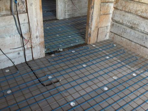 Lucrari, proiecte Incalzire in pardoseala resedinta particulara Stoinisteanu - Giurgiu - Casa lemn RAYCHEM - Poza 5
