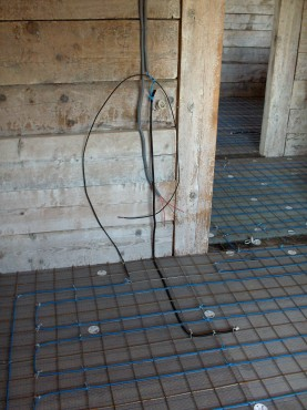Lucrari, proiecte Incalzire in pardoseala resedinta particulara Stoinisteanu - Giurgiu - Casa lemn RAYCHEM - Poza 161