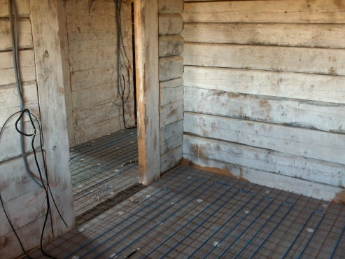 Lucrari, proiecte Incalzire in pardoseala resedinta particulara Stoinisteanu - Giurgiu - Casa lemn RAYCHEM - Poza 11
