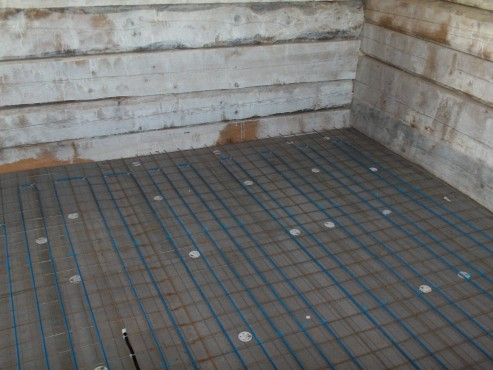 Lucrari, proiecte Incalzire in pardoseala resedinta particulara Stoinisteanu - Giurgiu - Casa lemn RAYCHEM - Poza 167