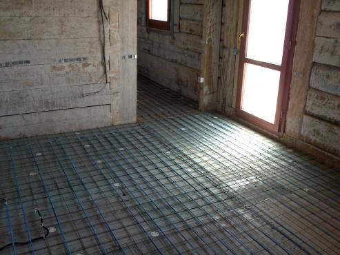 Lucrari, proiecte Incalzire in pardoseala resedinta particulara Stoinisteanu - Giurgiu - Casa lemn RAYCHEM - Poza 17