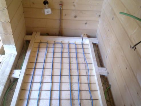 Lucrari, proiecte Incalzire in pardoseala Viperesti - judet Buzau casa lemn RAYCHEM - Poza 245