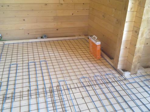 Lucrari, proiecte Incalzire in pardoseala Viperesti - judet Buzau casa lemn RAYCHEM - Poza 15