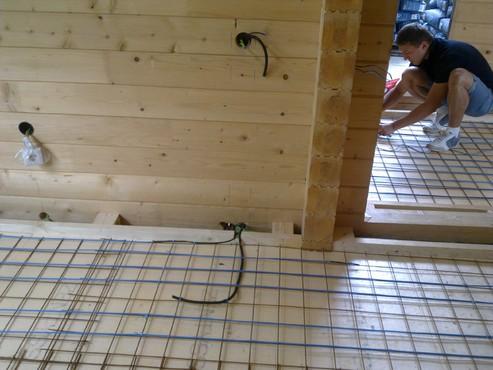 Lucrari, proiecte Incalzire in pardoseala Viperesti - judet Buzau casa lemn RAYCHEM - Poza 20