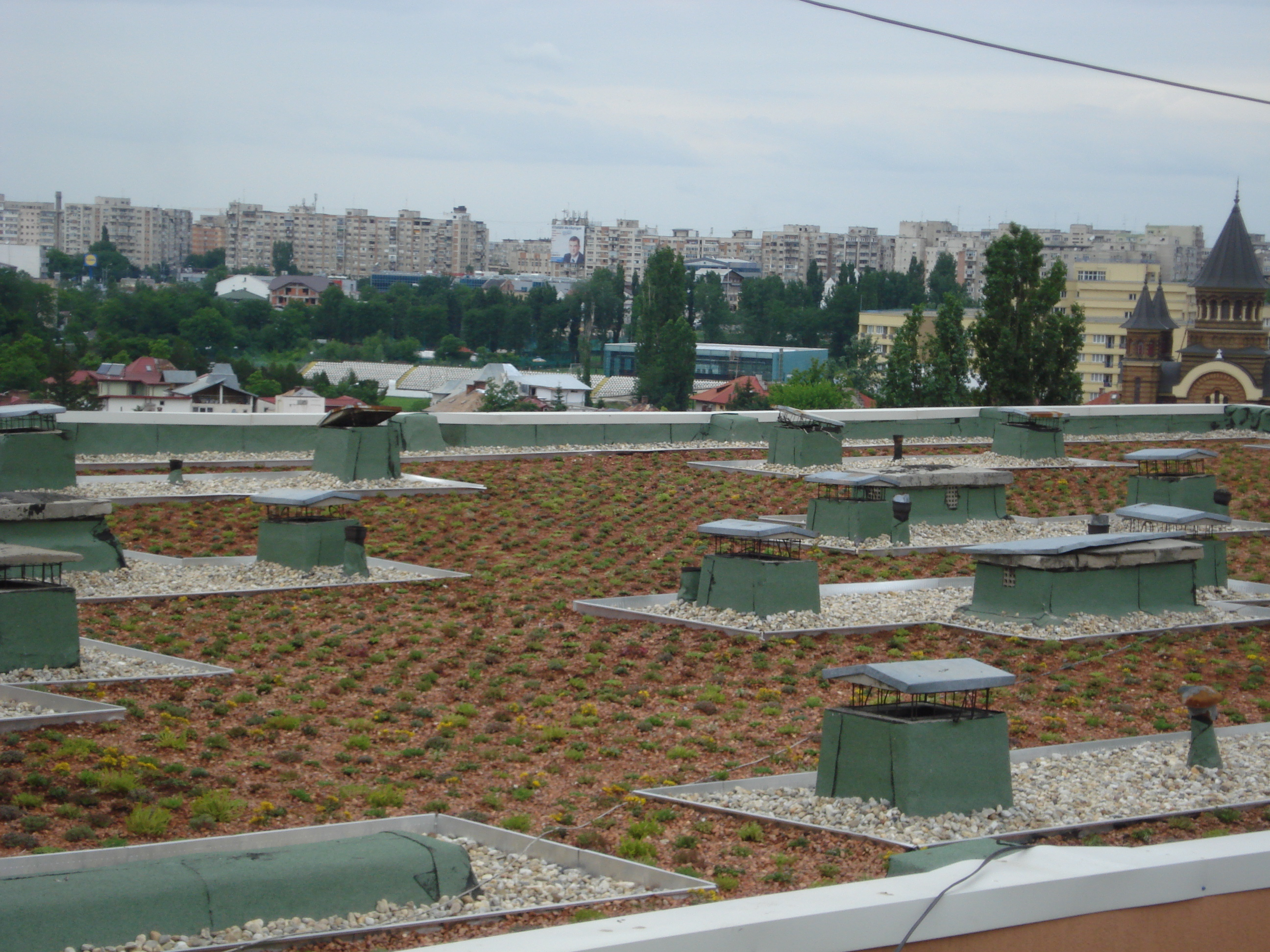 Acoperis verde pe acoperis existent Bucuresti SIMACEK Gardening - Poza 2
