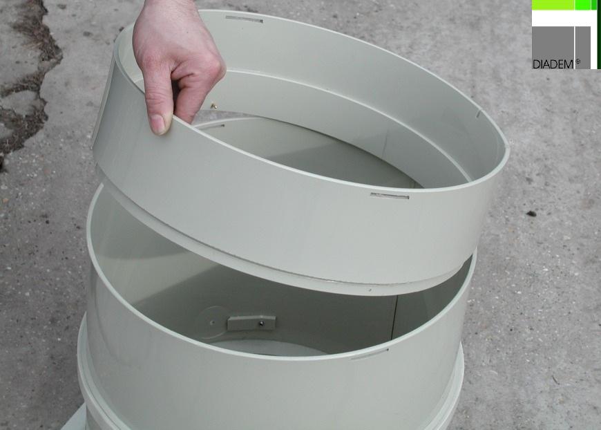 Camin de control filtrant KSR / KSA SIMACEK Gardening - Poza 2