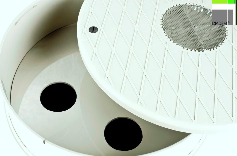 Camin de control filtrant KSR / KSA SIMACEK Gardening - Poza 1