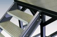Panouri si trepte din tabla perforata, pentru santiere de constructii PROINVEST