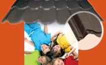 Tigla metalica pentru constructii noi, sau renovari Tigla metalica MBS® T24 detine de detaliu unic in piata - amprenta de colt, pe care o puteti vedea evidentiata in toate materialele promotionale dedicate acestui produs si care usureaza foarte mult montajul si da un aspect estetic foarte placut.