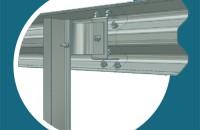 Parapeti metalici deformabili, sisteme pentru siguranta rutiera PROINVEST