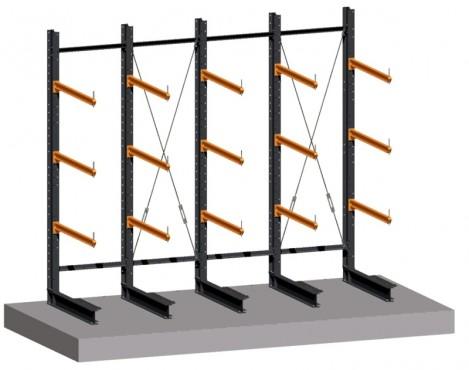 Prezentare produs Rafturi metalice cu brate portante PROINVEST - Poza 3