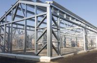 Structuri metalice pentru realizarea de hale de depozitare, showroom-uri, cladiri de birouri PROINVEST