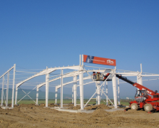 Sisteme de cladiri, profile din otel zincat pentru hale, constructii rezidentiale PROINVEST