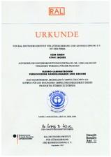 Certificat Sistem ELESGO pentru parchet laminat SILDAN
