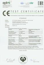 Certificare linoleum SILDAN