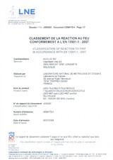 Certificare rezistenta la foc SILDAN