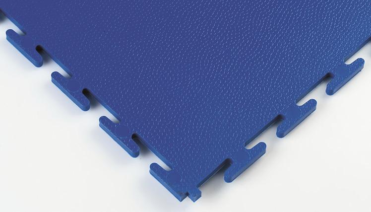 Placi industriale din PVC Lock-Tile albastru colt SILDAN - Poza 5