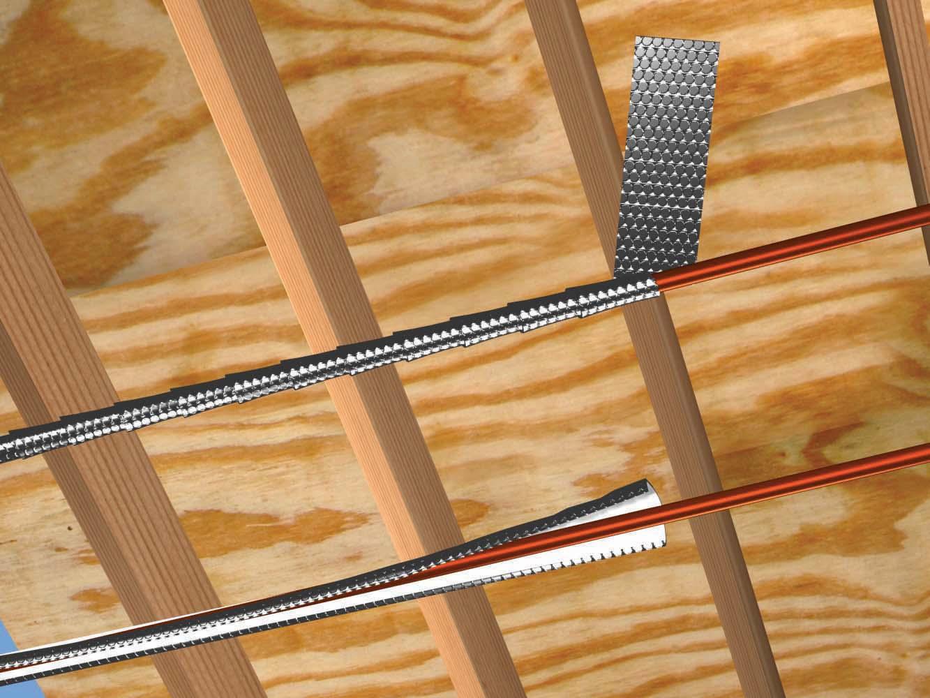 Folie termoizolanta utlilizare - Conducte si tubulaturi REFLECTIX - Poza 1
